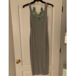 Misguided Gray Bodycon Dress